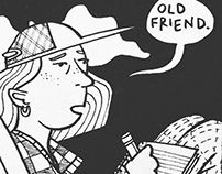 """Old Friend"" comic"