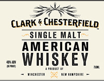 Clark & Chesterfield Single Malt American Whiskey Wrap