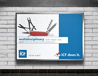 DC Metro + Digital Ad Campaign for ICF International