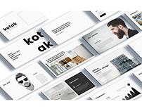 Kotak Interior Design Powerpoint Template