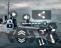 Navy Game UI/HUD