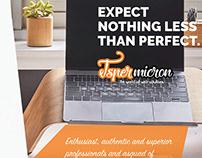 Brochure For Web Solution Company | jasper Micron