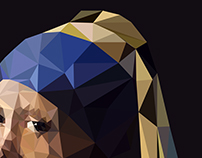 Low Poly | Famous Paintings