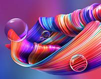 DELL S series screenfill Design