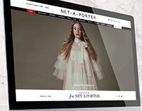 Net-A-Porter - Cinemagraphs E-commerce fashion website
