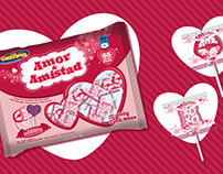 Amor & Amistad Lollipop