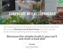 Web Design For A Health & Fitness Brand