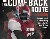Badger Sport - Fall Football ad