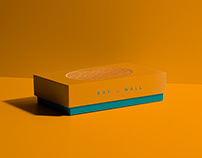 BAY & WALL, branding and Identity