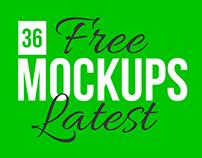 36 Free Latest Awesome Mockup Templates PSD