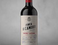 Finca El Camino. Wine Packaging Design.