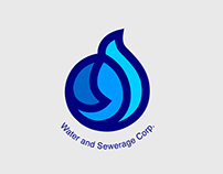Water and Sewerage Corp. (Identity Design)