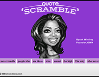 Quote Scramble