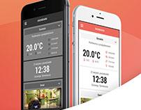 Ampio Smart Home - mobile app redesign