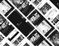 Photo sharing APP [monochromes]Prototype Design