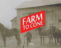 Farm to Cone - Visual Identity