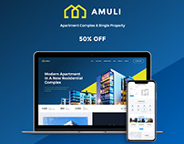 Amuli | Single & Multiple Property Real Estate WP Theme