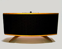 Antler (wooden speaker)