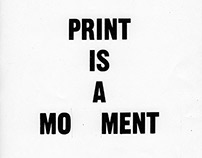 Polemical Notices / Typography & Silkscreen Workshop