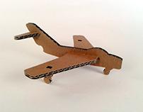 Tekturowe zabawki – MIG / Cardboard toys – MIG