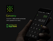 Convercy | Live Multi-Currency iOS Application