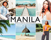 Free Manila Mobile & Desktop Lightroom Preset