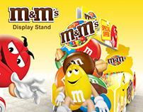 m&m's - Display Stand