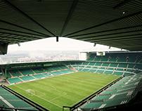 Football Stadium UE4