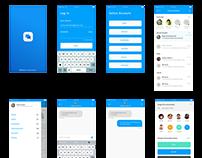 Agent conversation IOS app