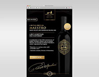 Robert Mondavi Winery Maestro Re-Release Email Design