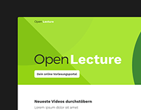 Uni Halle – OpenLecture