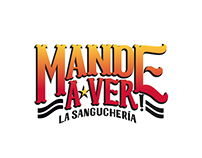 Mande a Ver, La Sanguchería Logotype