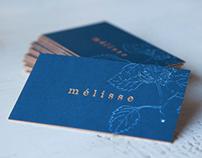 Melisse Restaurant Branding