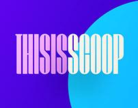 Scoop Display Font