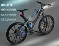 WATIKKE. Forged Composite Bike that store rainwater.
