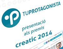 Vídeo presentación tuprotagonista.com