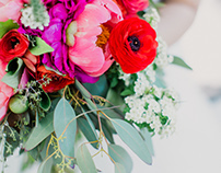 Botanical Garden Wedding Florals