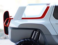 Tesla Allterrain Concept | 1:4 Scale Model