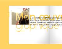 Design éditorial // 10 ans atelier PEM