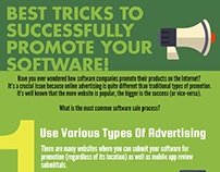 Best Tricks To Successfully Promote Your Software