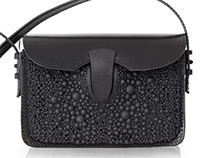 Stingray clutch bag - Fierce Forms Collection