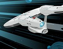 Star Trek 50th Anniversary tribute for Poster Posse