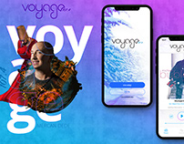 Voyage Radio Mobile App Redesign