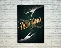 "Poster for Old Jazz Meeting ""Złota Tarka"""
