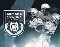 Branding Armada Lions Futebol Americano