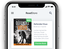 Mobile UI // ReadStore Apps