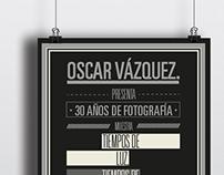 Afiche promocional                Muestra fotográfica