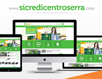 Sicredi Centro Serra - Website