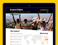 Student Flights Tours supplier page