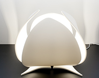 Makri Dado series - the ever changing lamp